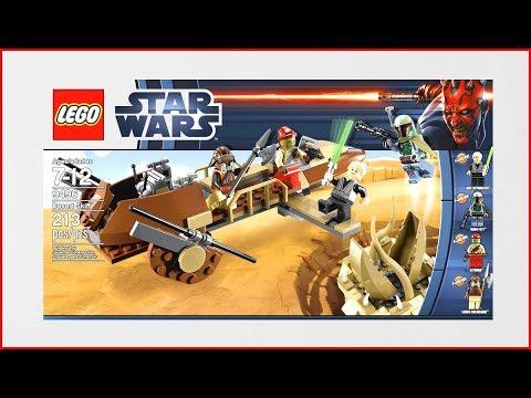 Vidéo LEGO Star Wars 9496 : Le Désert Skiff