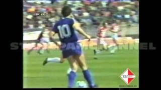 28^ giornata Bari-Verona 3-1 1985-1986 Aut. Di Gennaro,De Trizio,Sclosa,Verza
