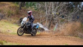 Racing The Triumph Tiger 800XC