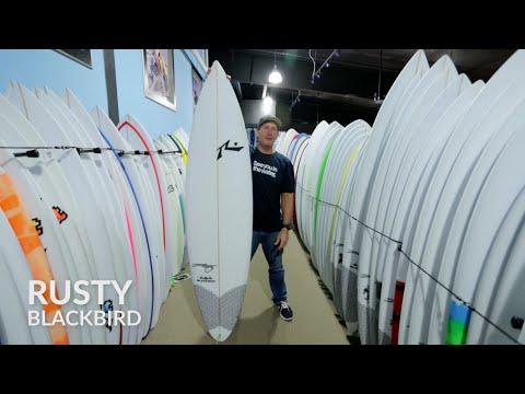 Rusty Blackbird Surfboard Review