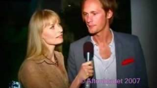 Alexander Skarsgard and Lasse Hallstrom interviewed by Sofia Eng