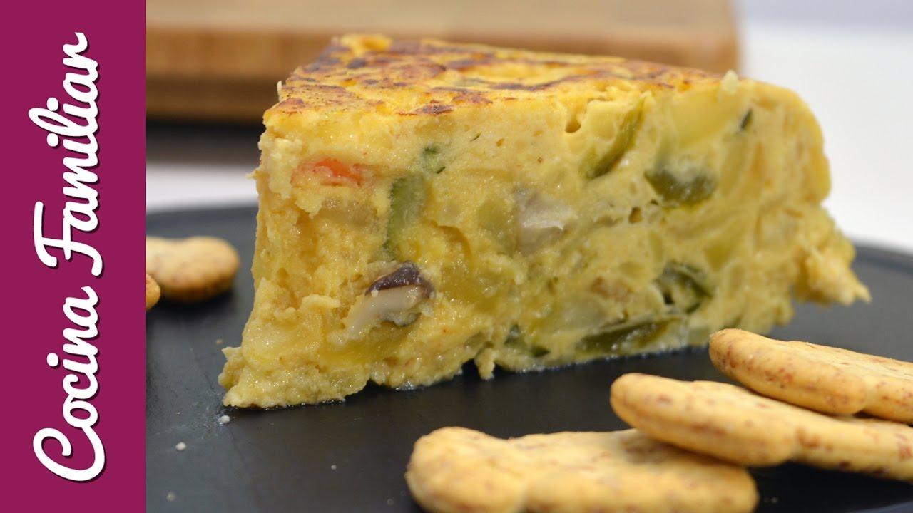 Tortilla de patata y verduras | Javier Romero Cap. 6 - Temporada 2