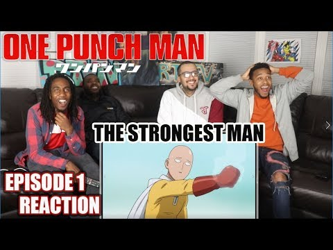 THE STRONGEST MAN! ONE PUNCH MAN EPISODE 1 REACTION/REVIEW