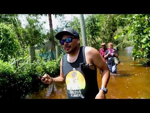 Bonita Springs residents return home to find neighborhood flooded by Hurricane Irma