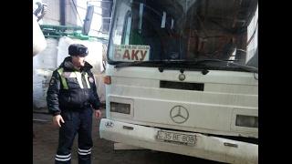 Пассажиры сломавшегося автобуса уехали в Баку