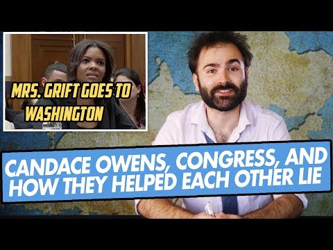 Candace Owens, Congress, and How They Helped Each Other Lie - SOME MORE NEWS