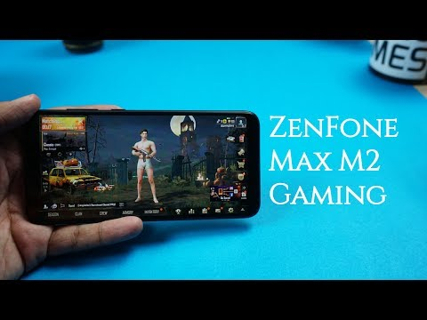 ASUS ZenFone Max M2 Gaming Review, PUBG Mobile Game Performance, Graphics, Battery Usage