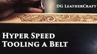 Hyper Speed Tooling A Leather Belt