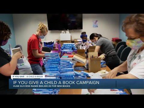 WXYZ distributes thousands of books to metro Detroit children during drive-thru book fair