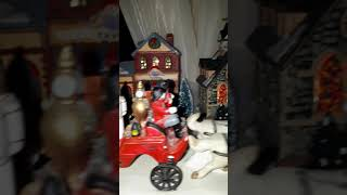 preview picture of video 'Upstairs christmas village 2018'
