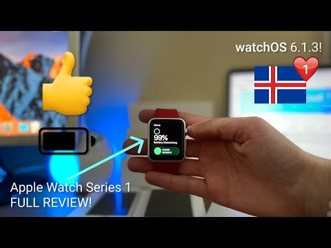watchOS 6.1.3 On Apple Watch Series 1!! {FULL REVIEW}