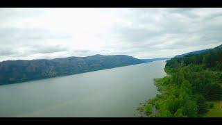 FPV Drone Near the Columbia River