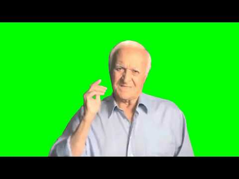 Robert Loggia - Not Okay! / Не смешно! (Green Screen Footage)