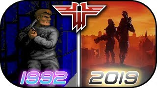 EVOLUTION of WOLFENSTEIN games (1981-2019) Wolfenstein Youngblood gameplay trailer graphics 2019