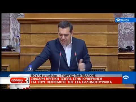 Η αντιπολίτευση για τα ελληνοτουρκικά   04/12/2019   ΕΡΤ