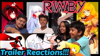 rwby red white black yellow trailer reaction - Thủ thuật máy