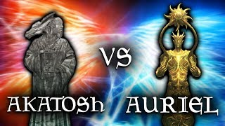 Skyrim: Auriel vs Akatosh - Elder Scrolls Lore