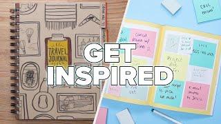 5 Creative Journal Ideas