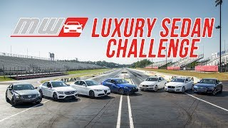 Comparison Test: Luxury Sedan Challenge
