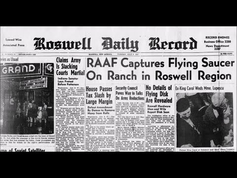 What Really Happened at Roswell 1947