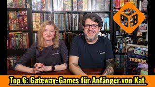 Top 6 Gateway-Games für Brettspiel-Beginner oder Wenigspieler von Kat
