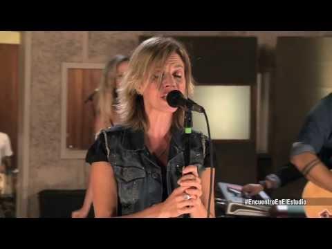 Marcela Morelo - Luz del cielo - Moonlight shadow - Encuentro en el Estudio [HD]