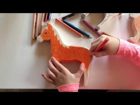 Мастер-класс по раскрашиванию деревянной игрушки Friendlyrobottoys