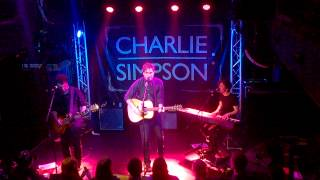 Charlie Simpson - Would You Love Me Any Less Live HD Acoustic Good Sound and Picture Quality 1080p