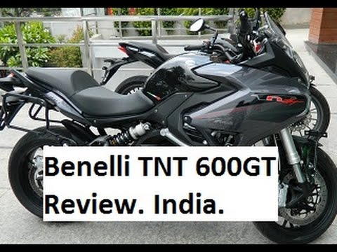 Benelli TNT 600GT Review and Test Ride. Hyderabad, India