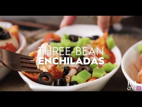 Three Bean Enchiladas | Weeknight Wins | Better Homes & Gardens