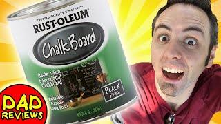 BEST CHALK PAINT?   Rustoleum Chalkboard Paint Review