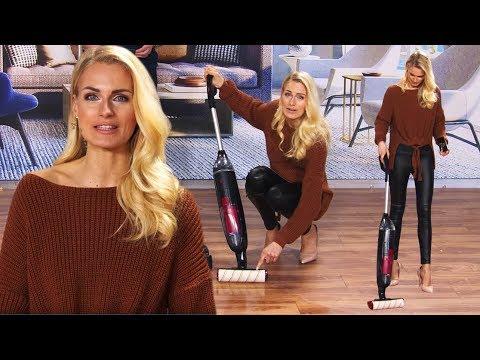 Staubsauger und Wischer in einem! Mit Anne-Kathrin Kosch bei PEARL TV (März 2020) 4K UHD
