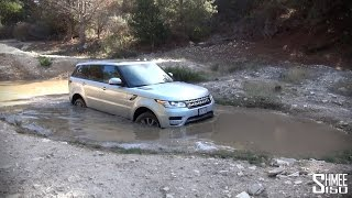 Going Off-Road in the Range Rover Sport Supercharged V8