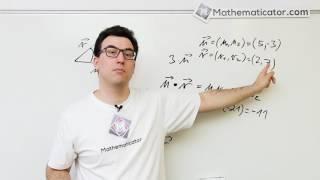 Analytická geometrie 18 - Vektory - Skalární součin - Jak na to