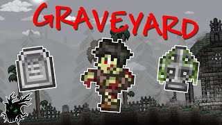 Terraria 1.4 Graveyard Minibiome! | Journey's End