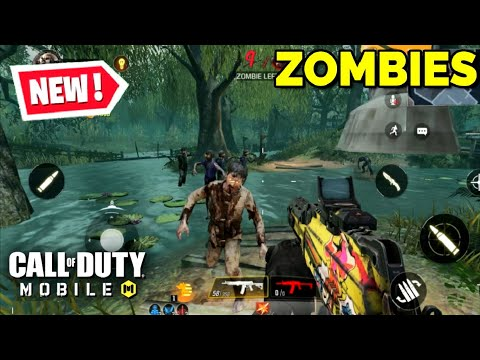 *NEW* CALL OF DUTY MOBILE ZOMBIES MODE FIRST LOOK GAMEPLAY (COMING SOON)