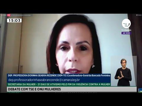 Transmissão com acessibilidade - Fim da violência contra a mulher - 04/12/20 - 14:59