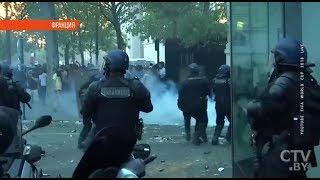 Празднование после ЧМ-2018 во Франции закончилось погромами