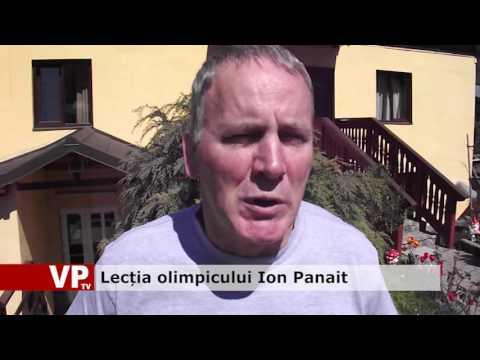 Lecția olimpicului Ion Panait