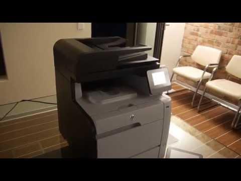 HP Color Laserjet M476 Drucker im Hands On [Deutsch]