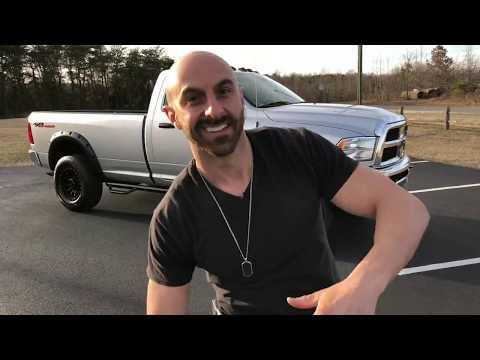 LEVELED 2014 Dodge Ram 2500 Tradesman 5.7L HEMI V8 single cab long bed on PROCOMP wheels!!