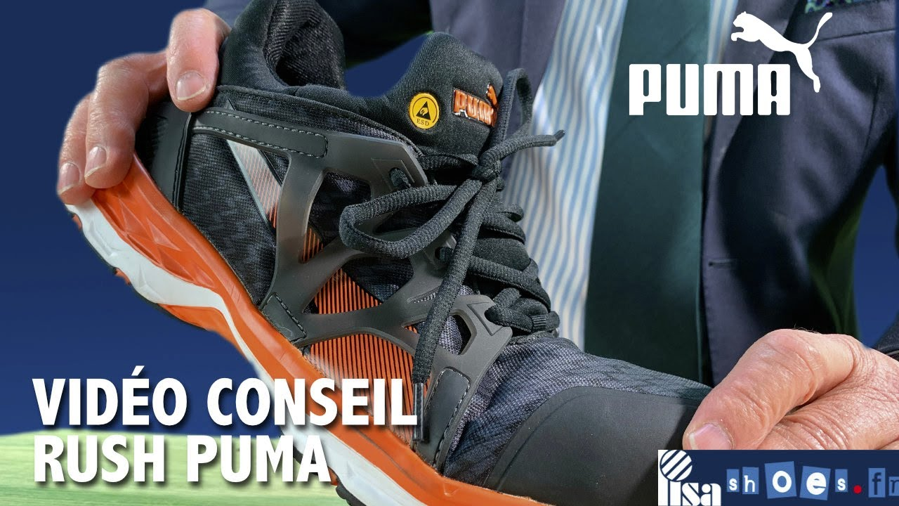 Basket De Securite Puma Rush 2 0 Hro S1p 87 95 Ht Lisashoes