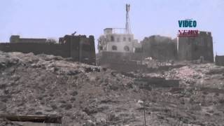 preview picture of video 'Clashes in southern Yemen'