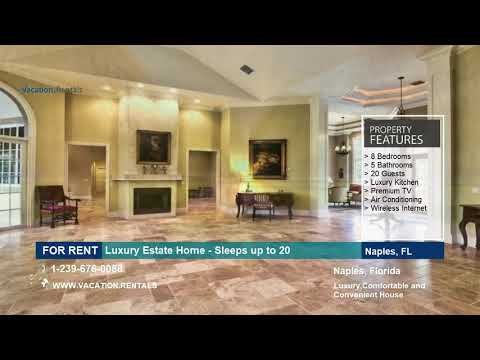 Florida | Vacation Rentals | Luxury Estate Home - 8 Guests | Naples