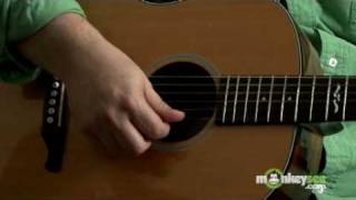 Guitar String Names and Numbers