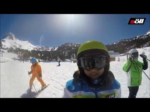 SÖLL WORLD Ropa de esquí para niños. Campaña de promoción