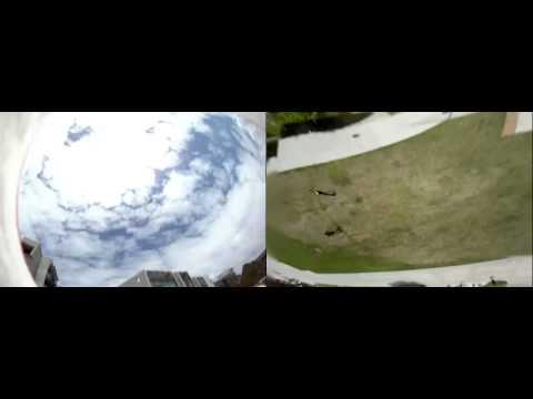 Stabilisation Software Turns Spinning Football Cam Into Bird's Eye View