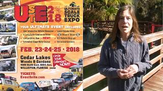 Host of USTE 2018- Cedar Lakes Woods and Gardens