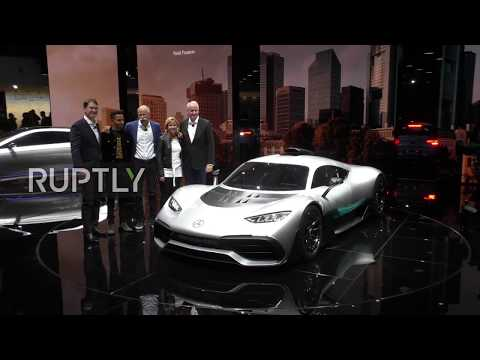Germany: Lewis Hamilton unveils Mercedes' Project One hypercar at Frankfurt Motor Show