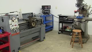 Moving the Clausing Colchester lathe